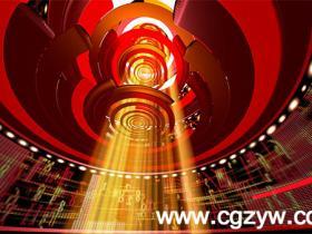 AE模板-现代化科技新闻节目开场 VideoHive Broadcast Design - News Open