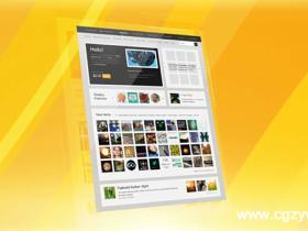 AE模板-企业网站宣传展示模板 website-presentation