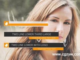 AE模板-动态字幕导条包装工程模板 Dynamic Lower Thirds