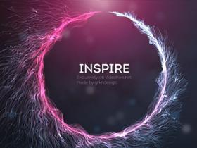 AE模板-企业公司电影预告宣传绚丽灵感粒子字幕展示