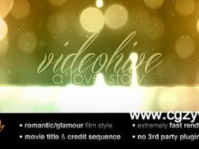 AE模板-电影片头标题动画Movie Title
