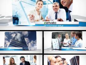 AE模版-现代企业图片展示 Modern Corporate Slideshow