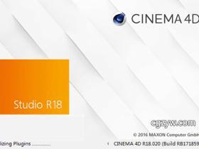 MAXON Cinema 4D C4D R18中文版/英文版WIN/MAC 注册机破解完全版