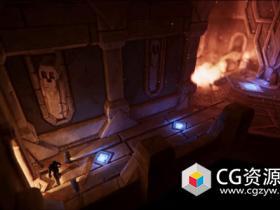 Unity与Maya创建游戏环境场景制作实例训练视频教程