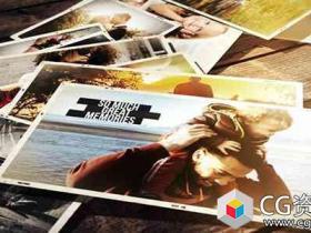 AE模板-美好回忆相册照片幻灯片Wonderful Memories Photo Slideshow
