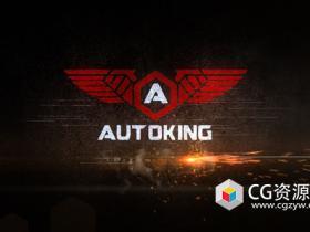 AE模板-速度感汽车标志文字Logo动画 Speed Logo Reveal