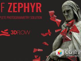 照片自动重建三维模型软件破解版3DF Zephyr PRO v4.300 Win