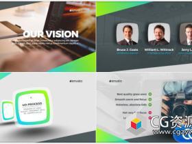 AE模板-企业介绍宣传片产品时间线包装Corporate Presentation