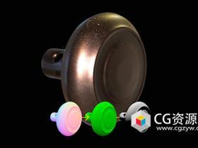 Arnold实用程序着色器添加灰尘和油漆斑点C4D教程