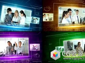 AE模板-高科技公司幻灯片企业宣传片视频演示
