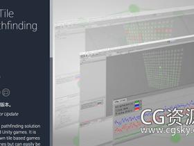 Unity瓦片和塔防游戏工具AStar 2D Tile Based Pathfinding v1.2.1