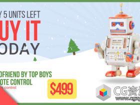 AE模板-圣诞节销售商品促销宣传动画 Christmas Sale