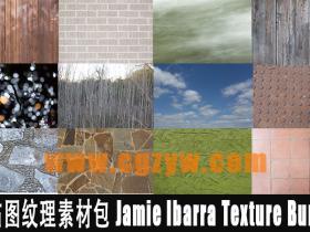 3D贴图纹理素材包 Jamie Ibarra Texture Bundle