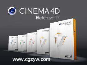 MAXON Cinema 4D C4D R17 WIN-MAC 注册机破解完全版(百度网盘)