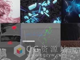 C4D粒子特效高级训练视频教程 FXPHD – C4D222 Cinema 4D Particles Masterclass