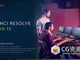 专业电影级达芬奇调色软件Davinci Resolve Studio 15.0b1Win中/英破解版