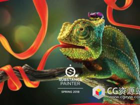 次世代游戏贴图绘制软件Substance Painter 2021 v7.1.0.804 Win/Mac