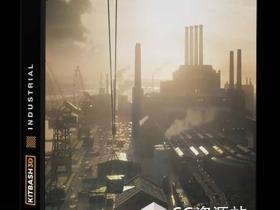 码头工厂工业三维模型场景Kitbash3D – Industrial