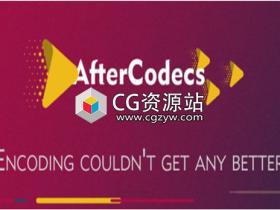 AE/PR/AME编码加速输出MP4 H264渲染插件 AfterCodecs 1.4.1 Win破解版