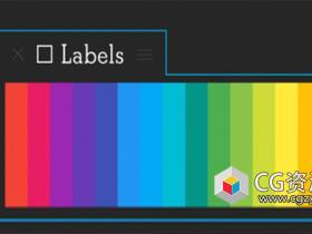 AE脚本-图层标签批量管理 Aescripts Labels V3.0+使用教程