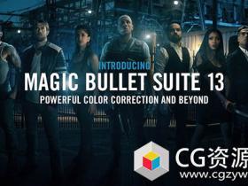 红巨星调色插件套装Red Giant Magic Bullet Suite v13.0.16 Win/Mac