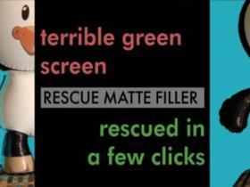 Rescue Matte Filler v1.2抠像细节还原修复AEPR插件  WinMac破解版+ 使用教程