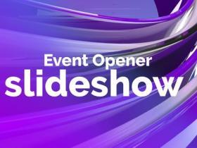 PR模板-公司商业会议业务介绍宣传活动开场 Event Opener Slideshow
