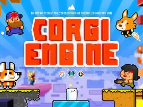 Unity游戏引擎系统Corgi Engine - 2D + 2.5D Platformer 6.2.1