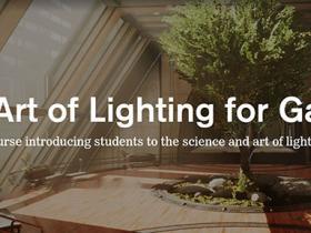 Unreal游戏引擎灯光照明技术流程视频教程