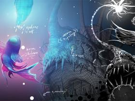 Blender概念艺术精美深海鱼怪制作流程视频教程