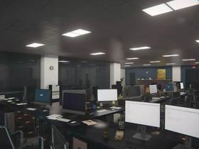 3D环境办公室安全室Unity资源包 QA Office and Security Room v1.1