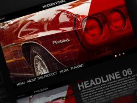 AE模板-创意设计图形科技感HUD风格视频展示片头