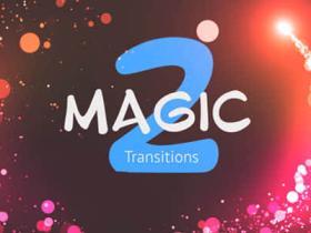 PR模板-25个唯美漂亮魔法粒子转场预设用于照片视频V2