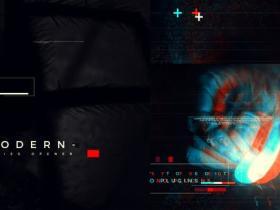 AE模板-故障快节奏感标题场景视频宣传片头