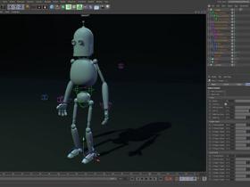 C4D基础知识机器人角色绑定教程