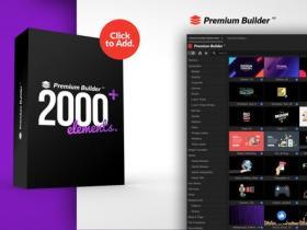 PR脚本-2000组MG图形文字标题排版图标字幕条背景动画预设