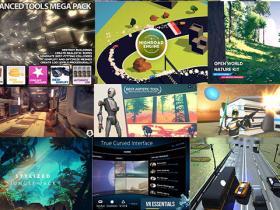 Unity游戏资源素材2020年11月合集V1