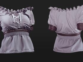 Marvelous Designer (MD)中世纪女式上衣制作教程