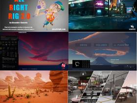 UE4游戏引擎扩展资料2021年5月合集 V2