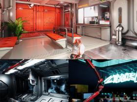 UE4游戏引擎扩展资料各种科幻包2021年5月合集 V3