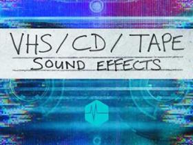 40个复古CD播放机快进倒带按键VHS无损音效