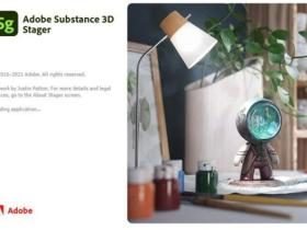 三维场景搭建软件 Substance 3D Stager v1.0.1 Win/Mac中文/英文