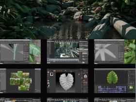 Unreal Engine制作植物游戏环境完整过程视频教程