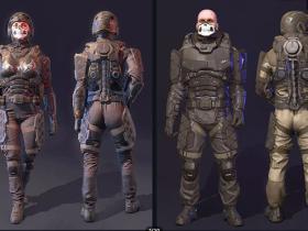 Unity未来战士包 Futuristic Soldiers Pack v1.0