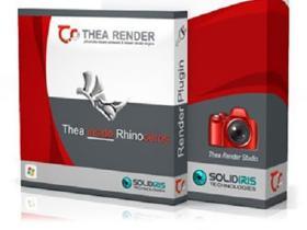 室内建筑渲染器插件 Thea Render v3.0.158.1959 For Rhino+SketchUp Win+预设库
