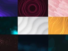 FCPX插件-9组时尚抽象循环背景视频动画 Stylish Animated Backgrounds