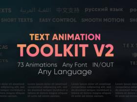 PR预设-73种文字缓入缓出文本动画工具包 Text Animation Toolkit V2