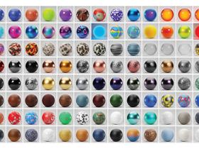 Blender 200组真实程序材质预设 Real Time Materials