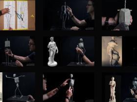 人体解剖学运动姿势结构框架视频教程