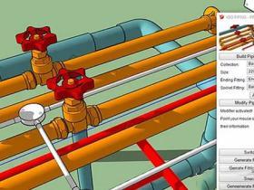 三维管道快速生成Sketchup插件 VBO Piping Pro v2.1.7